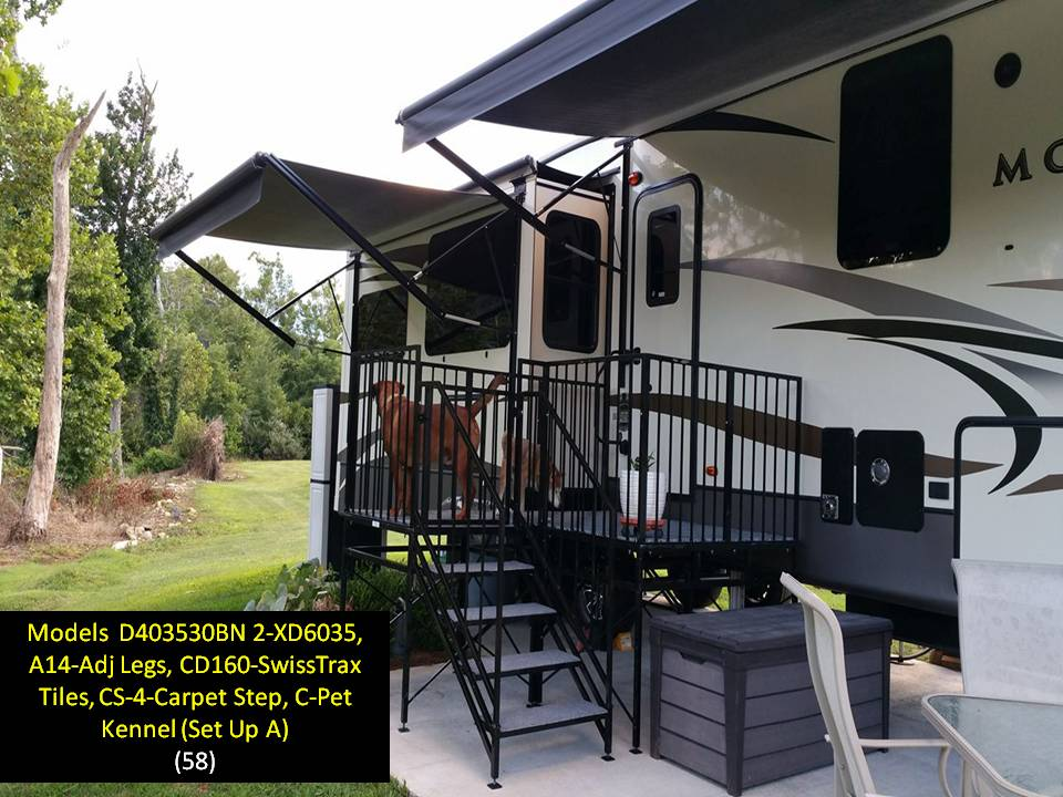 Hccr rv products decks and stairs home page for Rv decks